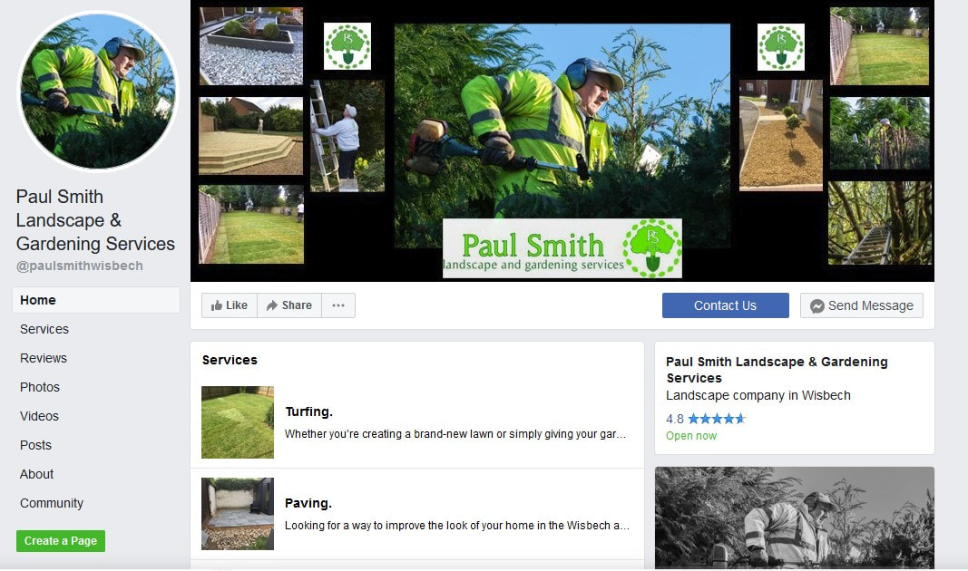 Paul Smith Facebook page. Wisbech.